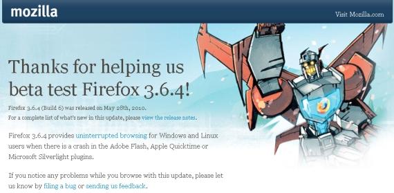 Firefox Lorentz