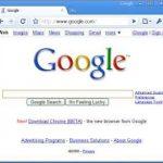 Google Chrome 6.0.437.1 ya se puede Descargar