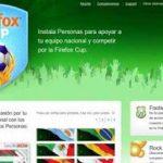 Firefox Cup –  la extension del mundial para Firefox
