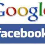 Razones por las cuales facebook no puede superar a google en visitas