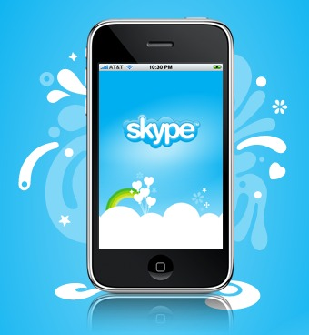 Skype 2.0  en el iPhone