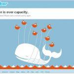 Exceso de capacidad en twitter