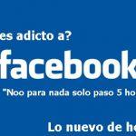 20 síntomas de  adicción a Facebook.