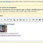 Gmail presenta Firmas de texto enriquecido