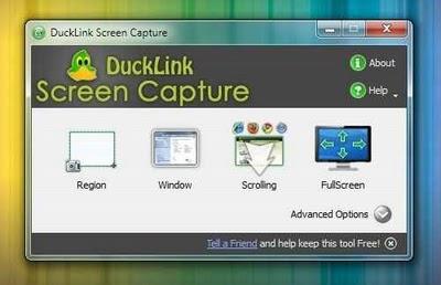 DuckCapture - haz capturas de pantallas en documentos largos