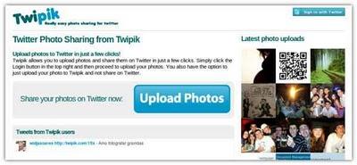 Twipik – Un sitio web para compartir fotos en Twitter