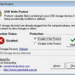 USB Write Protect- protege tu usb para que no se pueda guardar información en ella