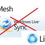 Windows Live Sync muere,  Live Mesh renace