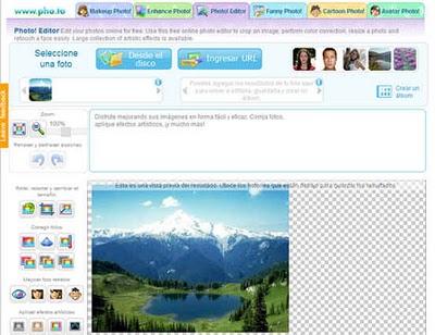 Pho.to editor: editor de fotos online