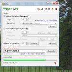 PWGen – un programa para  generar contraseñas seguras