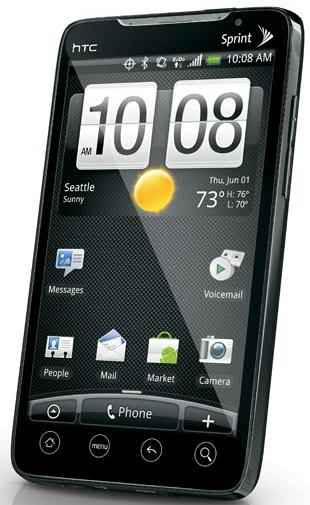 Características y detalles del HTC EVO 4G