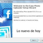 Easy Photo Uploader for Facebook – programa ara subir fotos a Facebook desde el escritorio