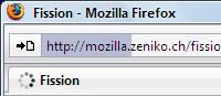 Fission - Tu barra de progreso tipo safari para Firefox