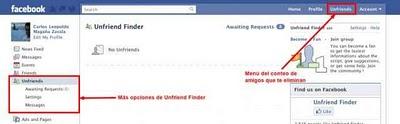 Como saber quien te borro o elimino del Facebook