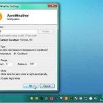 Cambiar los colores de Aero en Windows de acuerdo con el tiempo con AeroWeather