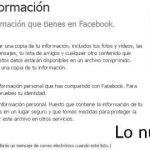 Como descargar todos tus datos de Facebook a tu Pc