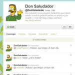 Don Saludador – recibe saludos automáticos a través de Twitter