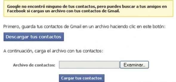 Facebook se las ingenia para conseguir usuarios de Gmail