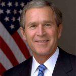 George W. Bush es entrevistado por el Fundador de  Facebook