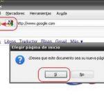 Como cambiar la pagina principal en Firefox