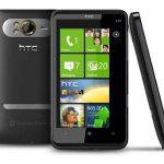 HTC HD7 – un smartphone con pantalla bastante grande