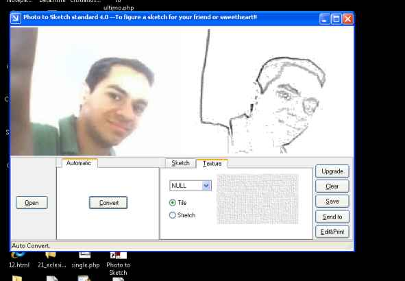 Photo to Sketch convierte una foto a dibujo