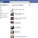 Tips: Como buscar personas en Facebook