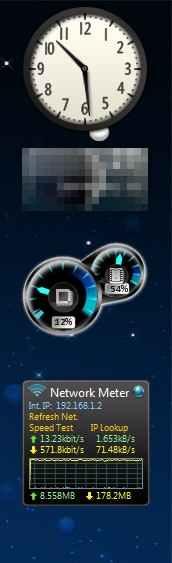 gadgets para windows 7
