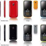 LG Text It Box C105  un teléfono con pantalla de 2.2 pulgadas