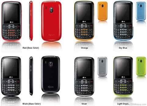 LG Text It Box C105