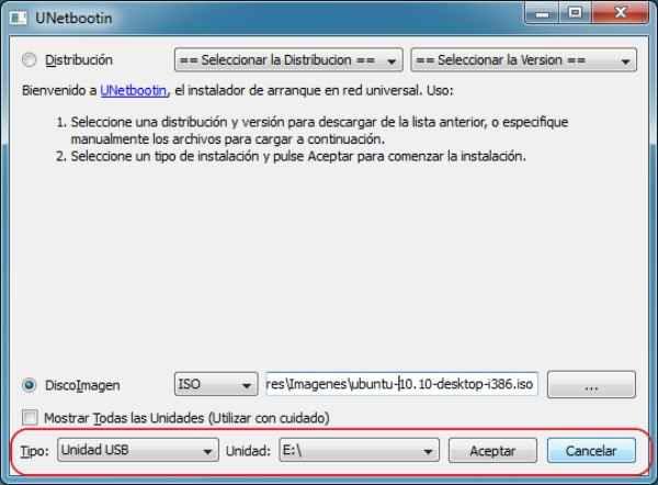Como instalar Linux desde una usb