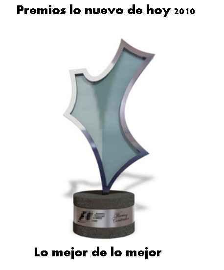 premios lo nuevo de hoy 2010