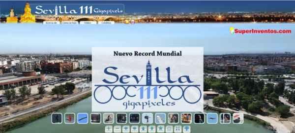 Fotografiá de Sevilla  de 111 Gigas