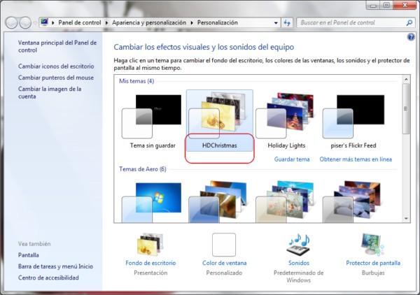 Windows 7 Christmas