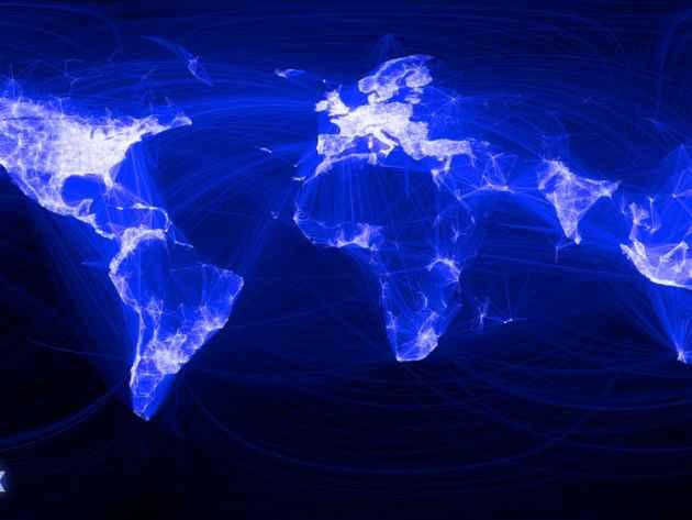Facebook y su Mapamundi