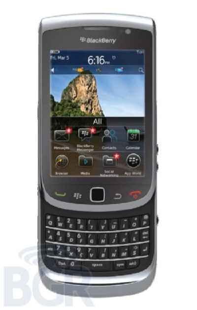 Características del BlackBerry Torch 2
