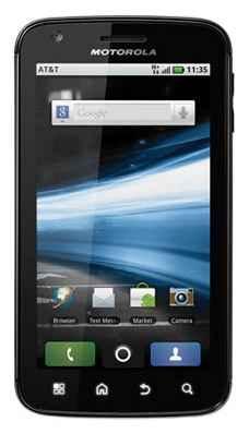 Detalles del Motorola ATRIX 4G