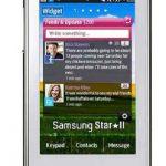 Detalles del Samsung Star II S5260