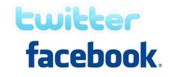 La diferencia entre Facebook y Twitter