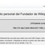 Wikipedia llega a 10 años y recauda  $ 16 millones USD en donaciones