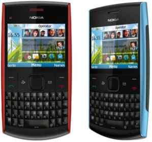 Detalles del Nokia X2-01