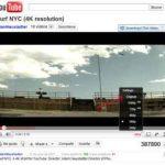Youtube aumenta la resolución para poder ver videos