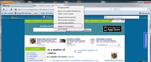 Cómo deshacer una pestaña cerrada en Firefox