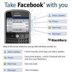 Como actualizar la aplicación de Facebook para BlackBerry