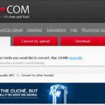 Convertir audio online con FLV.TO