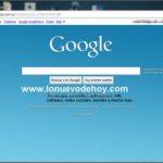 Cómo poner una imagen de fondo en la página principal Google