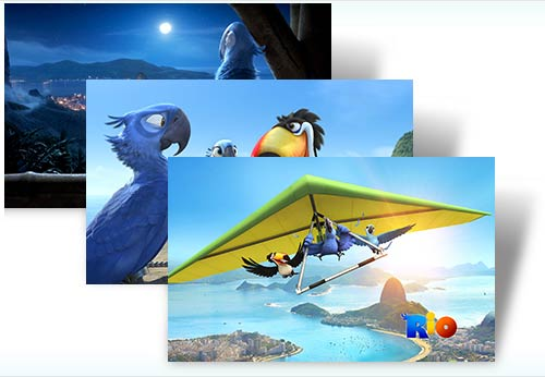 Rio Movie, tema para Windows 7