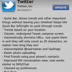 Twitter para iPhone se actualiza a la versión V3.3