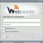 Webreader, un cliente para Google reader en tu escritorio