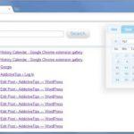 History Calendar, extensión Chrome para ver de forma ordenada el historial de navegación